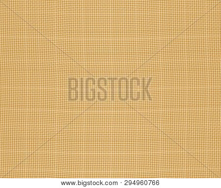 Burlap Fabric Seamless Texture. Retro Mat Canvas. Sacking Material. Hessian Wallpaper. Isolated Whit