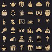 Great bounty icons set. Simple style of 36 great bounty vector icons for web for any design poster