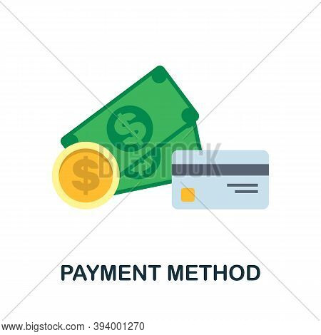 Payment Method Icon. Simple Element From Economic Collection. Creative Payment Method Icon For Web D