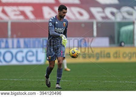 Genova, Italy. 08th November 2020. Mattia Perin Of Genoa Cfc During The Serie A Match Between Genoa