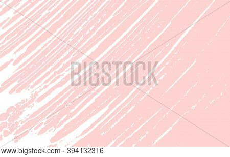 Grunge Texture. Distress Pink Rough Trace. Glamorous Background. Noise Dirty Grunge Texture. Vibrant