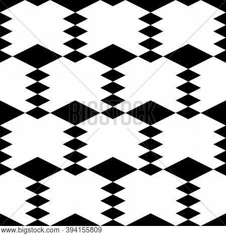 Seamless Ornament.lozenges Wallpaper. Diamonds Backdrop. Rhombuses Pattern. Ethnic Motif. Geometric
