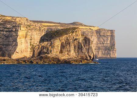 Fungus Rock, Malta