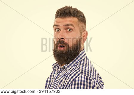 Are You Ready For Sale. Barbershop Master. Mustache From Barber. Mature Hipster Beard. Trendsetter H