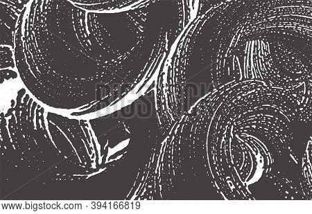 Grunge Texture. Distress Black Grey Rough Trace. Authentic Background. Noise Dirty Grunge Texture. G