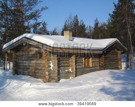 cottage in lapland