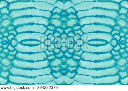Seamless Watercolor Snakeskin. Blue And White Colors. Wild Zoo Wallpaper. Alligator Leather Wild Sur