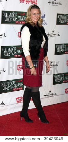 LOS ANGELES - NOV 25:  Natasha Henstridge arrives at the 2012 Hollywood Christmas Parade at Hollywood & Highland on November 25, 2012 in Los Angeles, CA