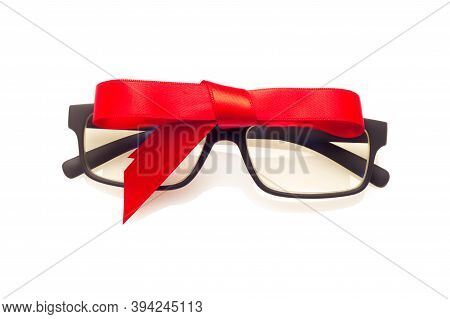 Black Lenses With Nice Gift Bow