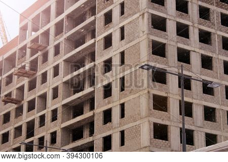 Image Of An Unfinished High-rise Building, City Object