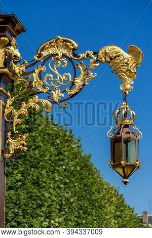 Detail Of The Place Stanislas In Nancy, France