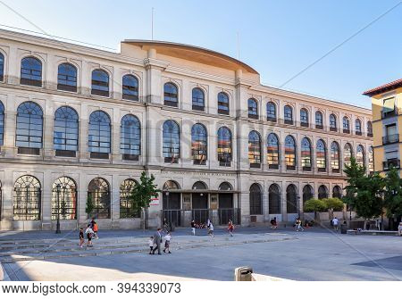 Madrid Royal Conservatory Building In Spain - June 2018