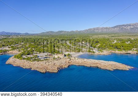 Sant Jordi De Alfama Castle In Ametlla De Mar Of Tarragona Catalonia Spain