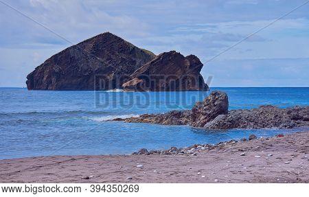 Ilheos Dos Mosteiros On Sao Miguel Azores, A Volcanic Rock