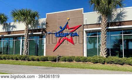 Orlando,fl/usa - 2/29/20:  The United States Professional Tennis Association Office Building On The