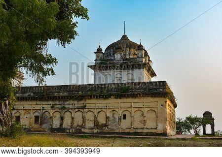 Baldeogarh Fort In Madhya Pradesh, India. Historical Place