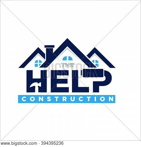 Home Construction Logo Designs Simple Modern For Contractor And Build Logo