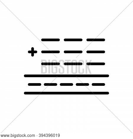 Black Line Icon For Total Entire Thorough Sum Addition Add Adding Overall Exhaustive All