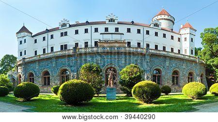 Konopiste Castle In Czech Republic. Panorama.