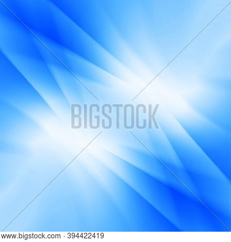 Blue Light Abstract Soft Background With Blur Style, Suitable As Business Background, Corporate Back
