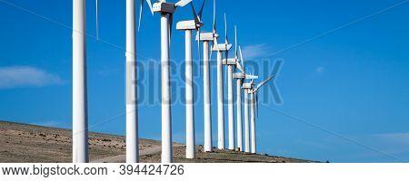 Electric wind generators, Hight quality photo