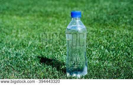 Healthy Drink. Global Environment Conservation. Plastic Garbage Need Recycle. Fresh And Clean. Feel