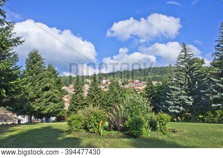Metsovo Epirus, Old City Street View, Greece, Europe