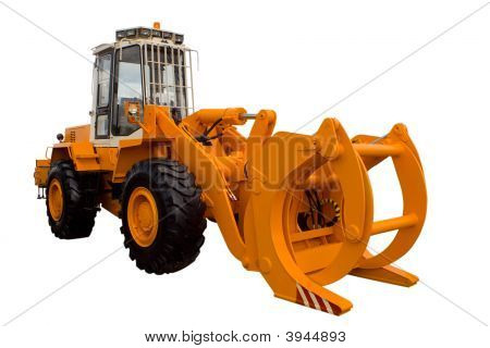 Tractor For Lumber Industry