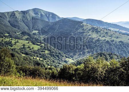 Rakytov Hill, Big Fatra Mountains, Slovak Republic. Seasonal Natural Scene. Travel Destination. Hiki