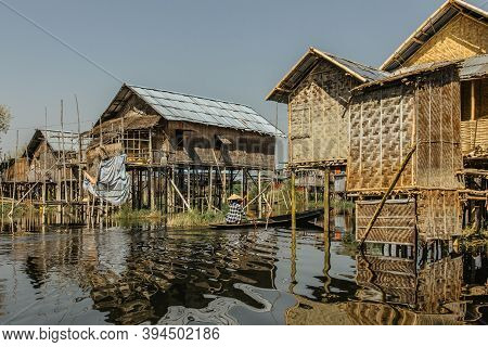 Floating Village Of Inle Lake Is One Of The Most Spectacular Destinations And Features Of Myanmar.ru