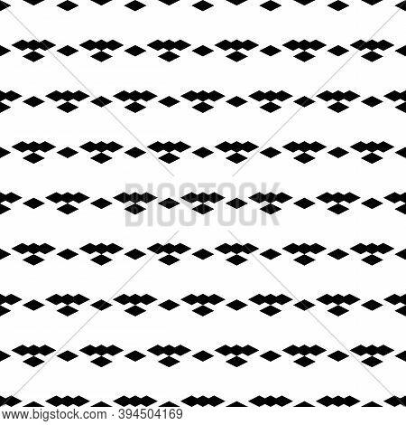 Seamless Pattern. Diamonds Backdrop. Lozenges Wallpaper. Ethnic Motif. Geometric Background. Digital