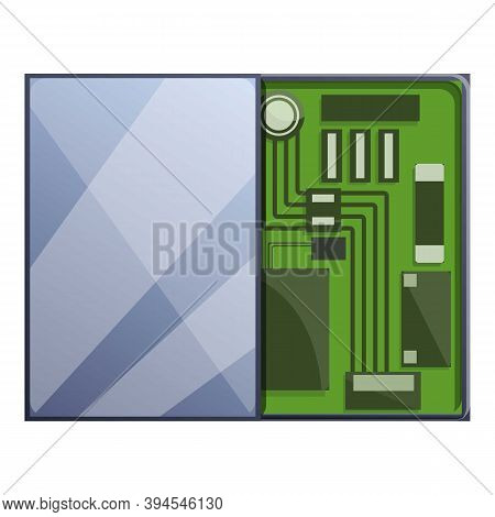 Motherboard Tablet Repair Icon. Cartoon Of Motherboard Tablet Repair Vector Icon For Web Design Isol