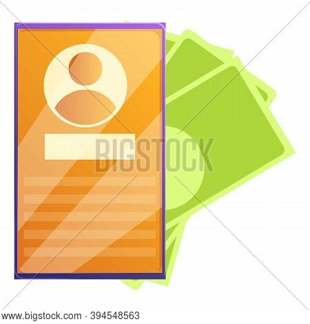 Cash Monetization Icon. Cartoon Of Cash Monetization Vector Icon For Web Design Isolated On White Ba
