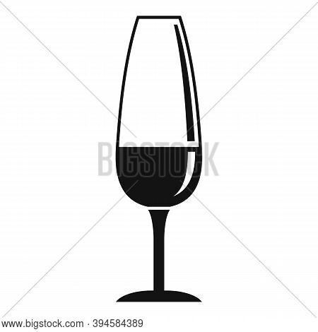 Goblet Wineglass Icon. Simple Illustration Of Goblet Wineglass Vector Icon For Web Design Isolated O