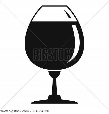 Snifter Wineglass Icon. Simple Illustration Of Snifter Wineglass Vector Icon For Web Design Isolated