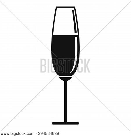 Bocal Wineglass Icon. Simple Illustration Of Bocal Wineglass Vector Icon For Web Design Isolated On