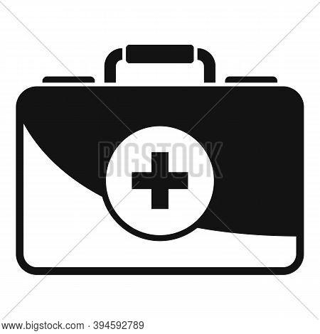 Safari Hunting First Aid Kit Icon. Simple Illustration Of Safari Hunting First Aid Kit Vector Icon F