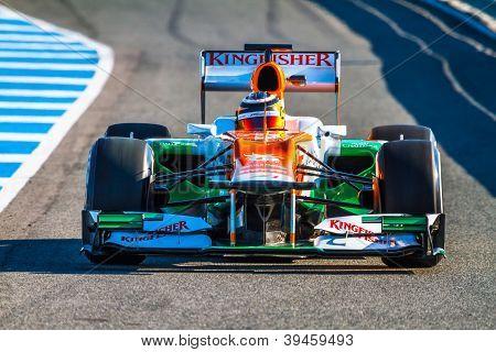 Team Force India F1, Nico H�lkenberg, 2012