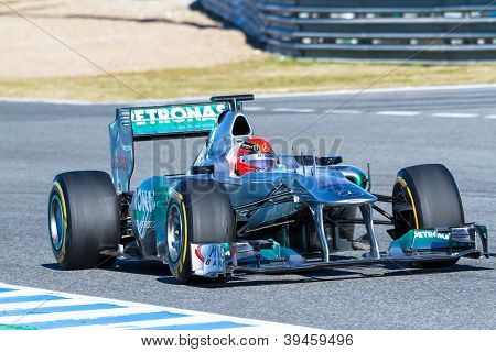 Team Mercedes F1, Michael Schumacher, 2012