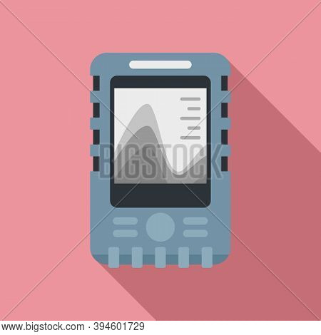 Echo Sounder Icon. Flat Illustration Of Echo Sounder Vector Icon For Web Design