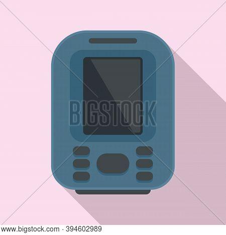Device Echo Sounder Icon. Flat Illustration Of Device Echo Sounder Vector Icon For Web Design
