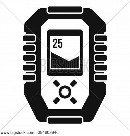 Echo Sounder Gadget Icon. Simple Illustration Of Echo Sounder Gadget Vector Icon For Web Design Isol