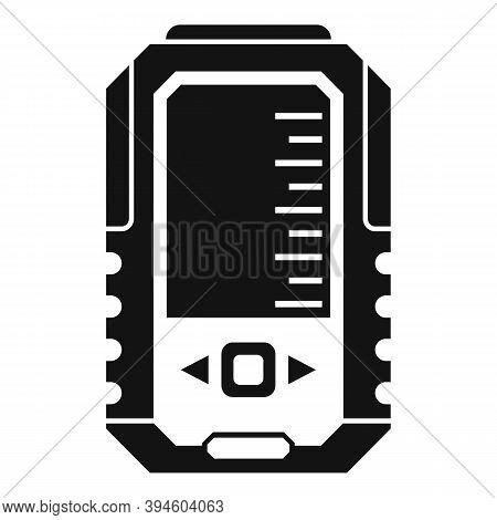 Fish Echo Sounder Icon. Simple Illustration Of Fish Echo Sounder Vector Icon For Web Design Isolated