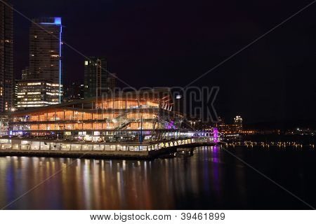 Vancouver Convention Center Night