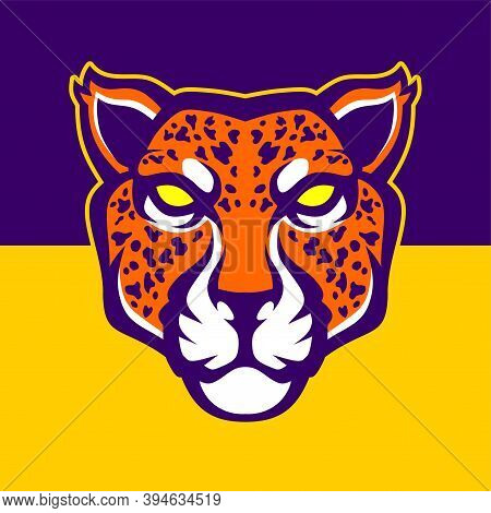 Jaguar Head. Vector Illustration For Use As Print, Poster, Sticker, Logo, Tattoo, Emblem And Other.