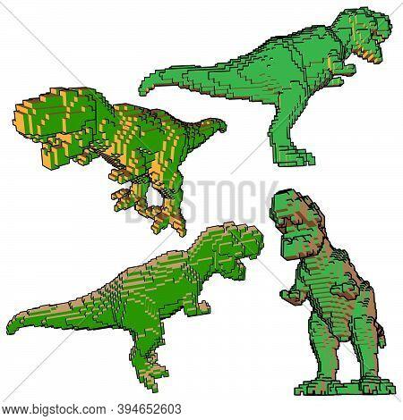 T-rex, Fast Lizard, Dinosaur Ancient Fast Predator, Jurassic