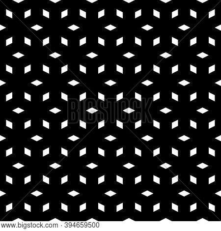 Diamonds Backdrop. Lozenges Wallpaper. Seamless Pattern. Rhombuses Ornament. Ethnic Motif. Geometric
