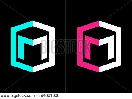 Initial Letter M E-sports Gaming Logo Vector.