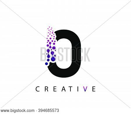 Abstract O Letter , Molecules O Technology Logo Design.