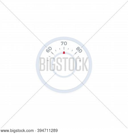 Thermostat Vector Illustration, Eps 10 File, Easy To Edit
